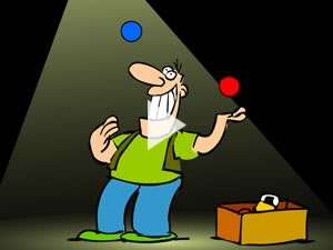 juggler - animation
