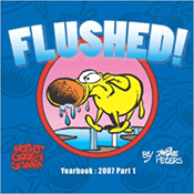 flushed book cover